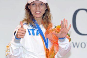 Valentina Vezzali alfiere azzurro!
