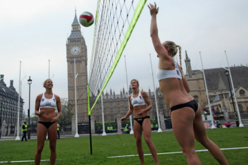 Beach Volley & Big Ben