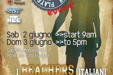 In Puglia i beachers italiani più forti di sempre