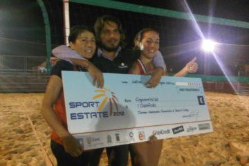 """Beach Volley: Lusenti-Menon vincono a """"Sport Estate 2012"""""""