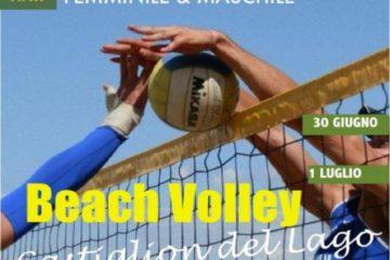 Il beach volley irrompe a Castiglione del Lago