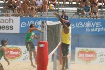 Campionato Italiano Bibione: in semifinale i brasiliani Nascimento-Coelho