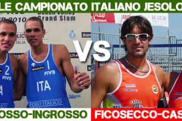 Tricolore Uomini Jesolo: i gemelli Ingrosso in finale contro Casadei-Ficosecco