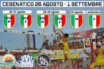 Finali Nazionali 2013: a Cesenatico sette giorni di Beach Volley