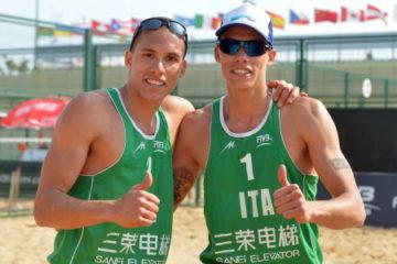 Grand Slam Shanghai: Nicolai-Lupo ed i gemelli Ingrosso accedono ai 16imi di finale