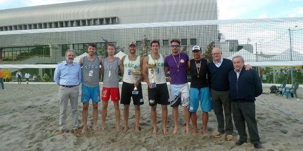 Il podio del Torneo Open di Modena (foto facebook)