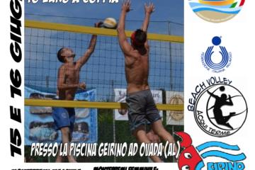 Il 15 e 16 giugno ad Ovada un torneo regionale 2×2 maschile e femminile
