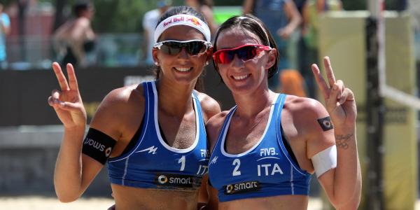 Marta Menegatti e Greta Cicolari (foto fivb.org)
