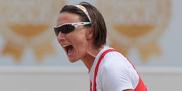 Tutta la gioia di Greta Cicolari (foto fivb.org)