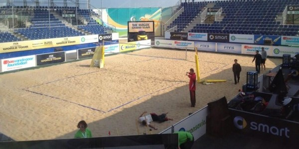 L'arena di The Hague (foto FIVB.org)