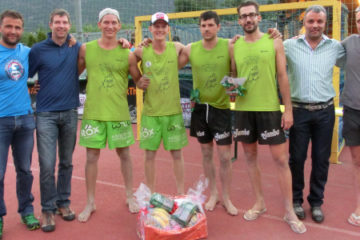 Beachvolley sull'Adige con il Bank The Future Beachcup
