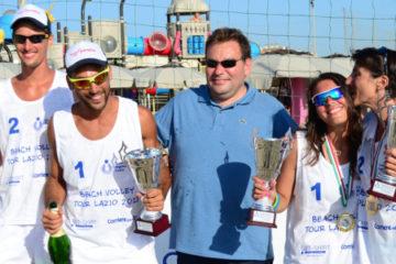 Beach Volley Tour Lazio 2013, Menon-Caglio e Rossi-De Angelis campioni regionali