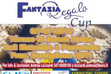 Il 6 e 7 luglio ad Asti la 'Fantasia Regalo Cup'