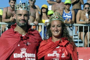 King & Queen of the beach 2013: vincono Gianluca Casadei e Graziella Lo Re