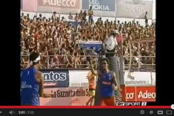 Roberto Viscuso ed il 'Cuore in Gola – Il Beach Volley' dedicato a Gianni Mascagna ed Andrea Ghiurghi