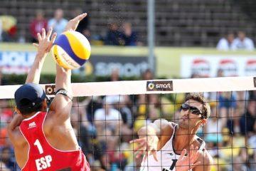 Grand Slam Berlino: Tomatis-Ranghieri chiudono in quarta posizione. Trionfano i brasiliani Vitor Felipe-Evandro