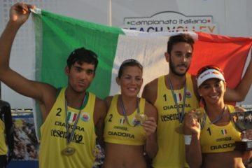 Menegatti-Orsi Toth e Lupo-Nicolai sono i nuovi Campioni d'Italia