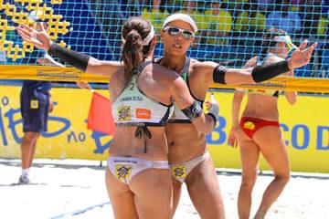 Al Banco do Brasil Tour Juliana torna al successo in coppia con Maria Antonelli. Nel maschile trionfo di Alison-Bruno Schmidt