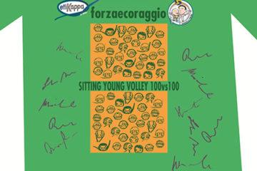 Il 27 aprile a Bellaria tanta beneficienza con il Sitting Young Volley 100 vs 100