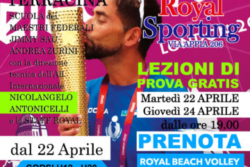 Terracina: La Royal al cubo! Beachvolley tutto l'anno