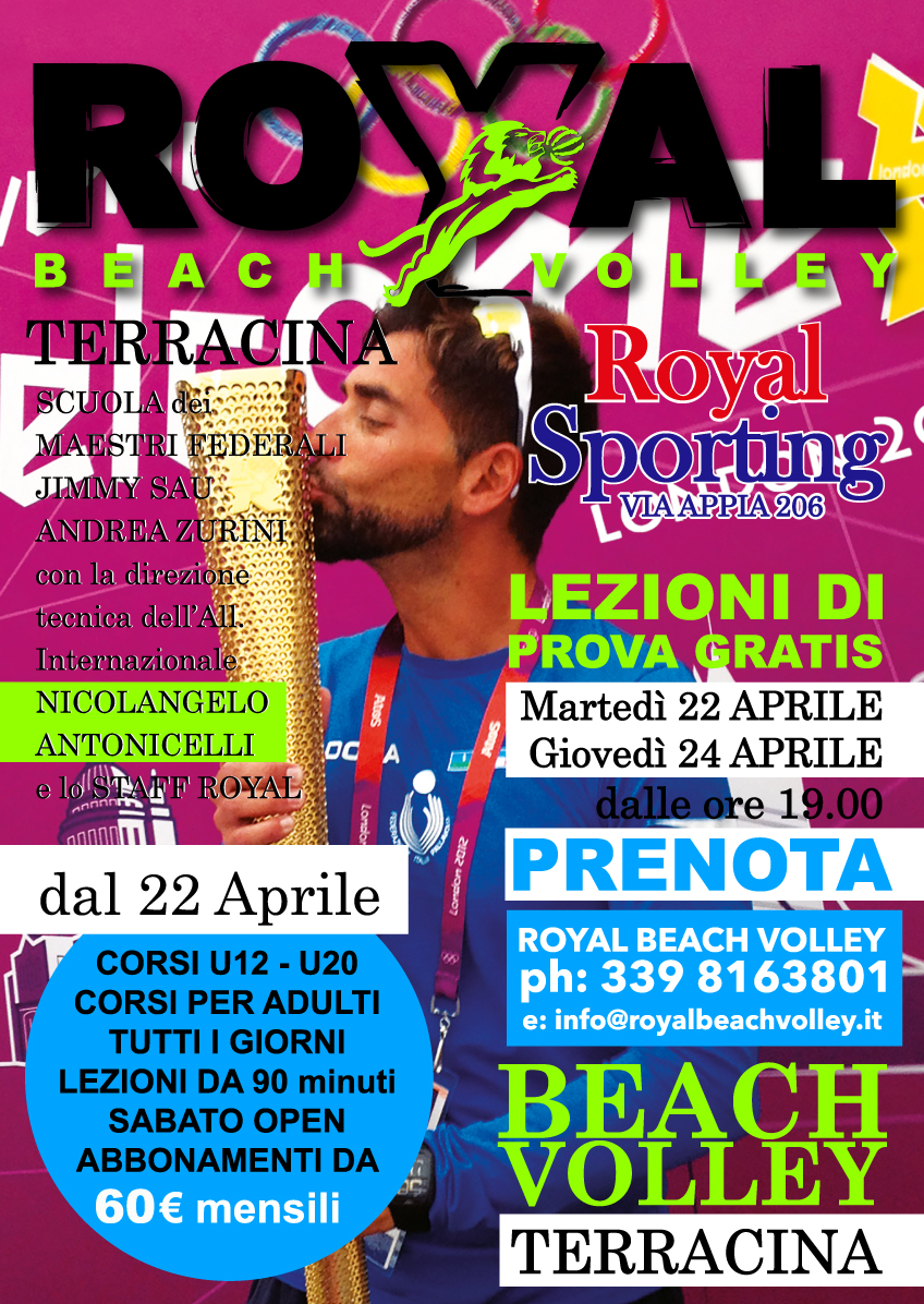 royal beach volley terracina