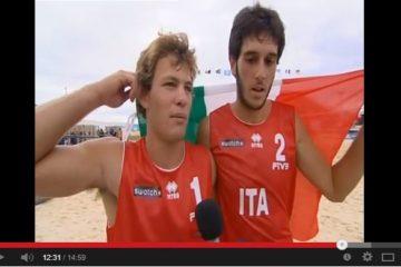Video: Quando Nicolai-Giontella si laurearono campioni del mondo under 21 nel 2008