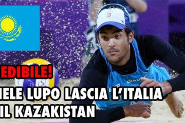 Clamoroso! Daniele Lupo lascia la nazionale italiana per quella Kazaka