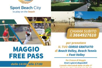 Allo Sport Beach City gli sport su sabbia a maggio sono GRATIS!