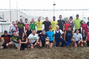 """Taglio del nastro per la Royal Beach Volley a """"La Spiaggia"""" di Ostia"""