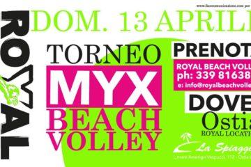 Domenica 13 aprile ad Ostia la 1° tappa del Torneo Misto mYx