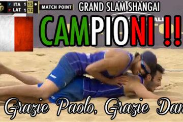 Capolavoro Italia! Nicolai-Lupo, il Grand Slam è Vostro