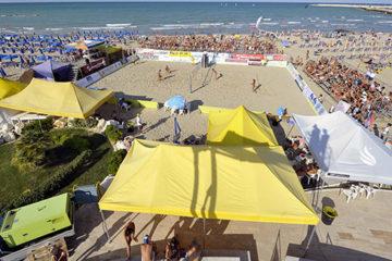 Inizia il conto alla rovescia del King & Queen of the Beach 2014. Il Comune realizzerà la Beach Arena