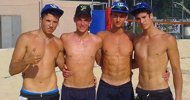 milano royal beach volley de fabritiis rizzi