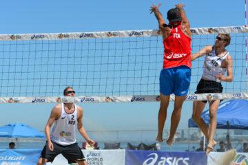 Grand Slam Long Beach: Buona la prima per Nicolai-Lupo e Tomatis-Ranghieri. Per Menegatti-Orsi Toth una vittoria ed una sconfitta