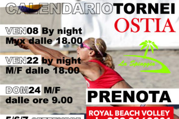 Ad Ostia non si ferma la lunga estate della Royal Beach Volley