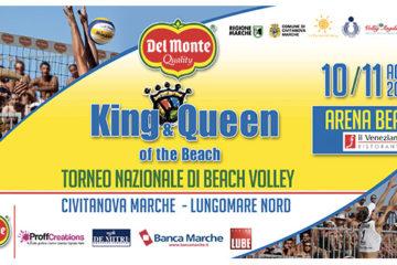 Martedì 5 agosto a Civitanova Marche la presentazione della XV edizione del King & Queen of the Beach