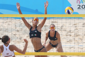 Giochi olimpici giovanili estivi: Lantignotti-Enzo sconfitte 2 a 0 dalle lettoni Graudina-Kravcenoka