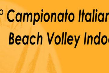 Da fine novembre il primo campionato italiano indoor di beach volley