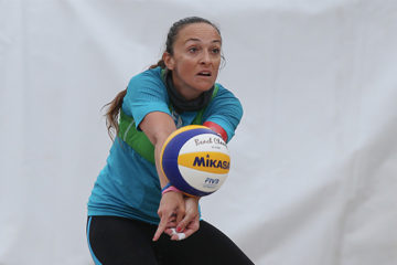 Daniela Gioria dà l'addio al beach volley giocato