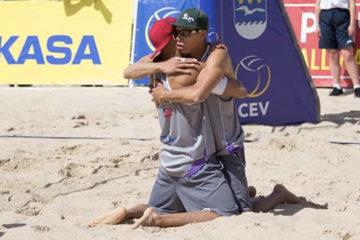 CEV Masters Jurmala: Paolo e Matteo Ingrosso campioni