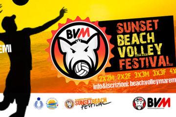 Dal 5 al 7 giugno a Marina di Grosseto il Sunset Beach Volley Festival