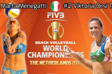 Mondiali 2015: La pool di Marta Menegatti e Viktoria Orsi Toth