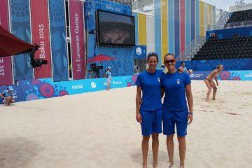 European Games Baku: Gioria-Momoli superano la Bielorussia 2 a 1