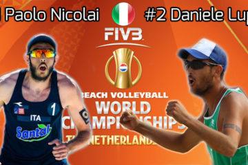 Mondiali 2015: La pool di Paolo Nicolai e Daniele Lupo