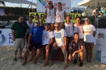 Beach Volley Tour Lazio 2015: Alla Pinetina Village vittoria per Bonifazi-Allegretti
