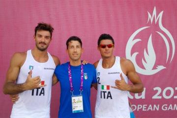 European Games Baku: Esordio ok per gli Ingrosso e Ranghieri/Rossi. Per Gioria/Momoli e Giombini/Toti vittoria e passaggio del turno