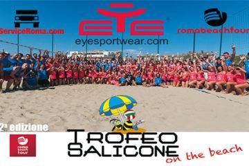 """Il """"TROFEO SALICONE…on the beach"""" sbarca il 4 e 5 luglio al Tirreno Village di Fregene"""