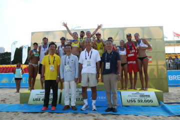 Grand Slam Yokohama: Ancora Alison/Bruno. Nel femminile vittoria delle tedesche Ludwig/Walkenhorst