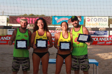 Beach Volley Tour Lazio: Zurini/Del Carpio e Fusco/De Angelis campioni regionali 2015