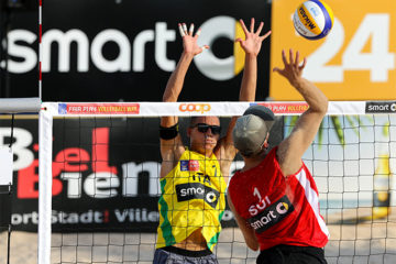 CEV Biel/Bienne Masters: Sconfitti 2 a 0 gli svizzeri Kovatsch/Kissling, J. Gli Ingrosso in semifinale